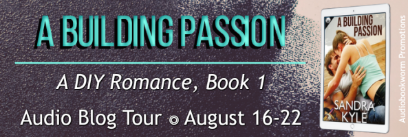 🎧 Audio Blog Tour: A Building Passion by Sandra Kyle