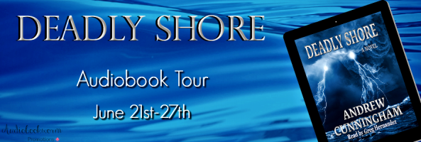 🎧 Audio Blog Tour: Deadly Shore by Andrew Cunningham