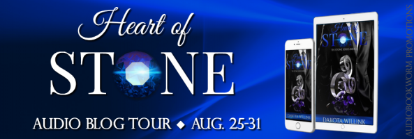 ? Audio Blog Tour: Heart of Stone by Dakota Willink
