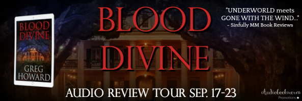 🎧 Review Tour: Blood Divine by Greg Howard