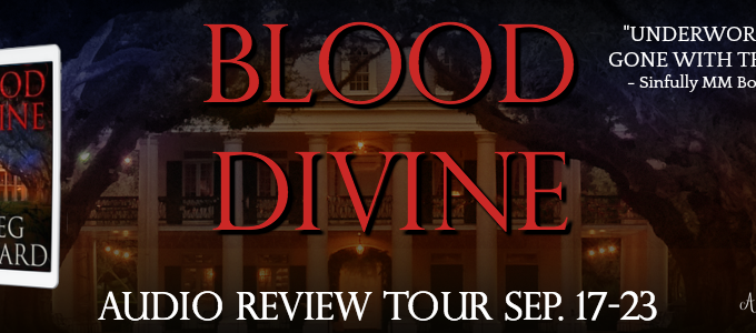 🌟 New Blog Tour: Blood Divine by Greg Howard