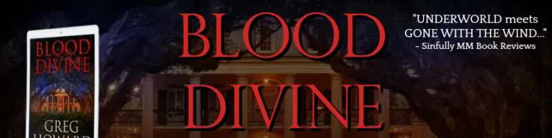 🌟 New Review Tour: Blood Divine by Greg Howard