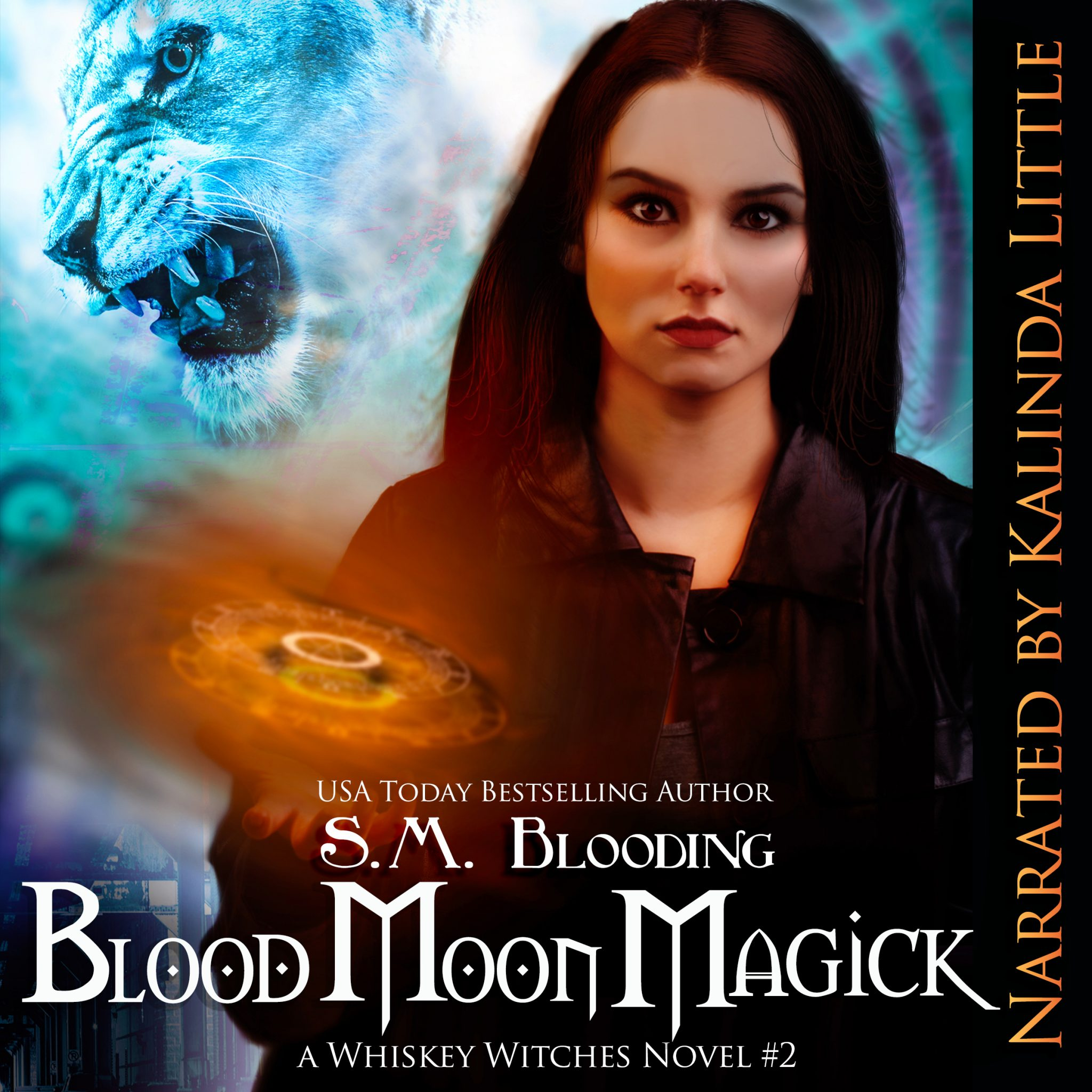 Blood Moon Magick Audiobook Tour