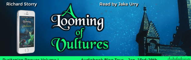 🎧 Audio Blog Tour: A Looming of Vultures by Richard Storry