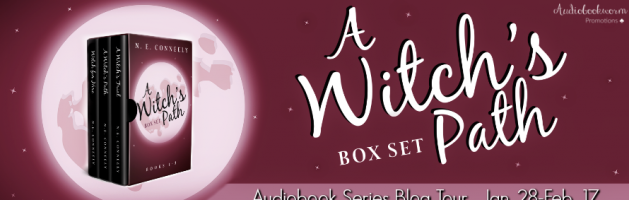 🎧 New Series Blog Tour: A Witch's Path by N.E. Conneely