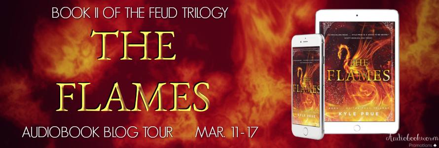 🌟 New Blog Tour: The Flames by Kyle Prue