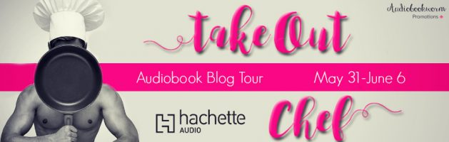 ⭐️ Audio Blog Tour: Takeout Chef by Gaby Cabezut