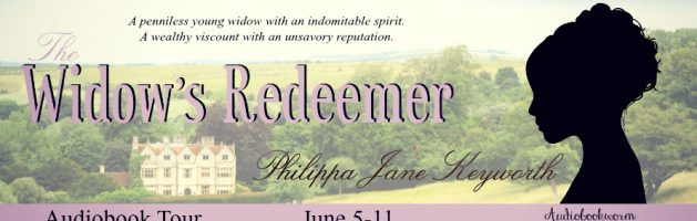 🎧 Audio Blog Tour: The Widow's Redeemer by Philippa Jane Keyworth