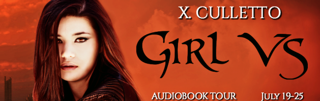🎧 Audio Blog Tour: Girl Vs by Xela Culletto