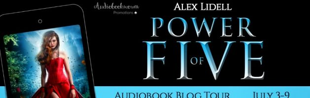 ⭐️ Audio Blog Tour: Power of Five by Alex Lidell