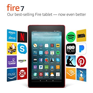 Prize: Amazon Kindle Fire 7
