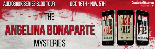 🎧 Audio Series Blog Tour: The Angelina Bonaparte Mysteries by Nanci Rathbun