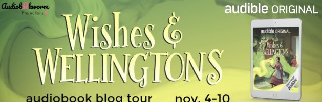 🎧 Audio Blog Tour: Wishes and Wellingtons by Julie Berry