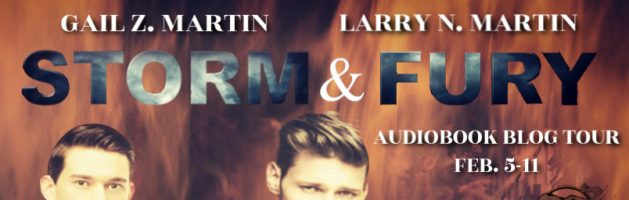 🎧 Audio Blog Tour: Storm & Fury by Gail Z. Martin