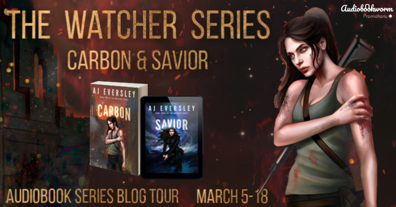 ⭐️ New Series Blog Tour: The Watcher Series by AJ Eversley