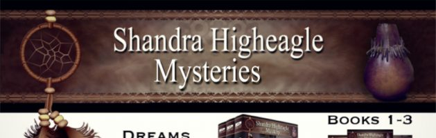⭐️ New Series Blog Tour: Shandra Higheagle Mystery Series by Paty Jager