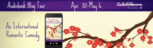 🎧 Audio Blog Tour: Passports and Plum Blossoms by Barbara Oliverio