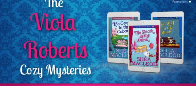 ⭐️ New Audio Series Blog Tour: The Viola Roberts Cozy Mysteries by Shéa MacLeod