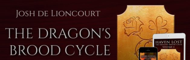 ⭐️ New Audio Series Blog Tour: The Dragon's Brood Cycle by Josh de Lioncourt