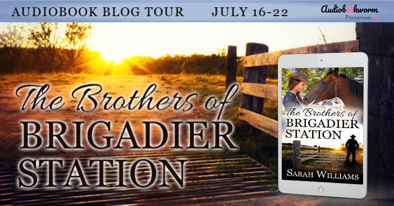 Audiobook Tour: The Brothers of Brigadier Station by Sarah Williams