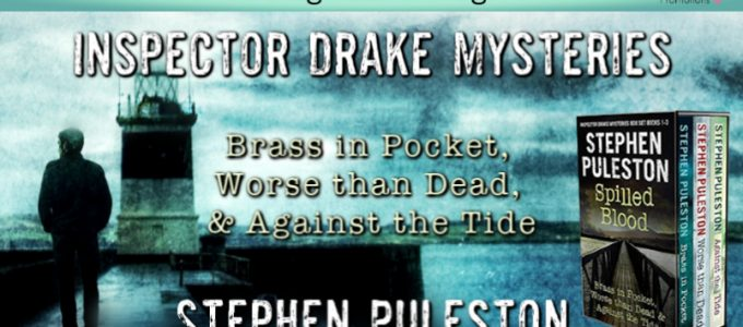 ⭐️ New Audio Series Blog Tour: Inspector Drake Mysteries by Stephen Puleston