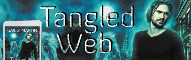 🎧 Audio Blog Tour: Tangled Web by Gail Z. Martin
