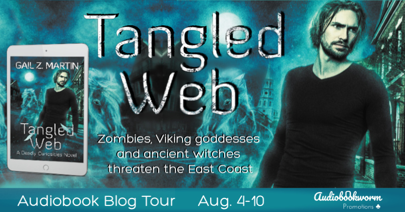 Audiobook Blog Tour: Tangled Web by Gail Z. Martin