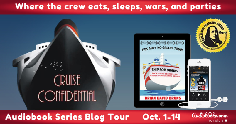 Audiobook Series Tour: Cruise Confidential by Brian David Bruns