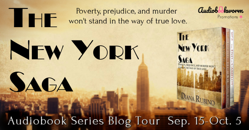 Audiobook Series Tour: The New York Saga by Diana Rubino