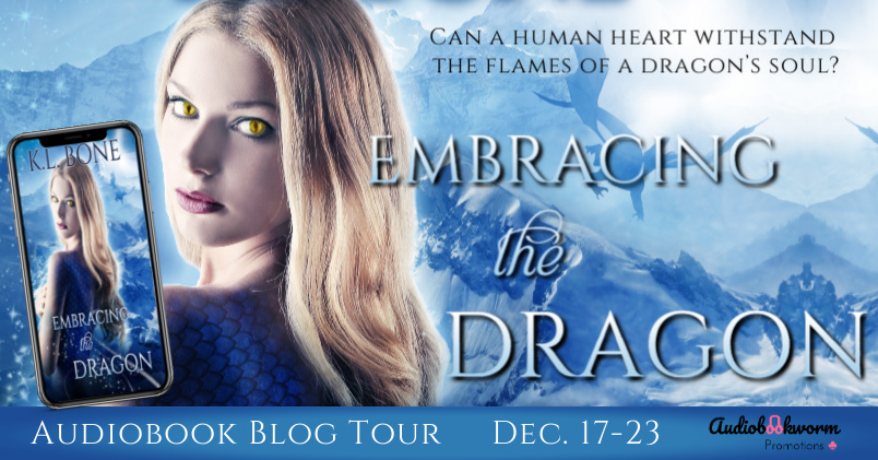 Audiobook Tour: Embracing the Dragon by K.L. Bone