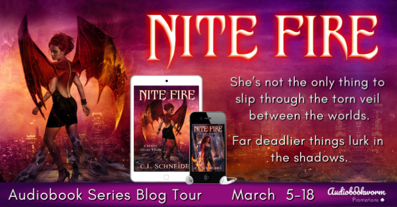 Audiobook Blog Tour: Nite Fire by C.L. Schneider