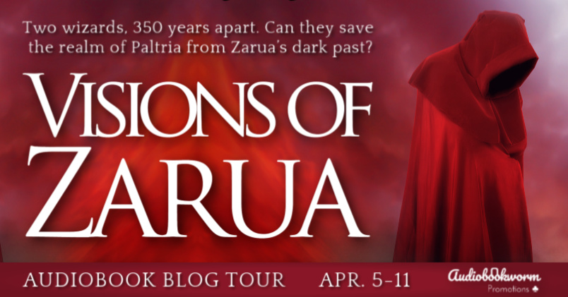 Audiobook Blog Tour: Visions of Zarua by Suzanne Rogerson