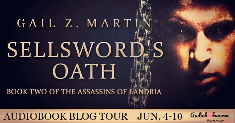 Audiobook Blog Tour: Sellsword's Oath by Gail Z. Martin