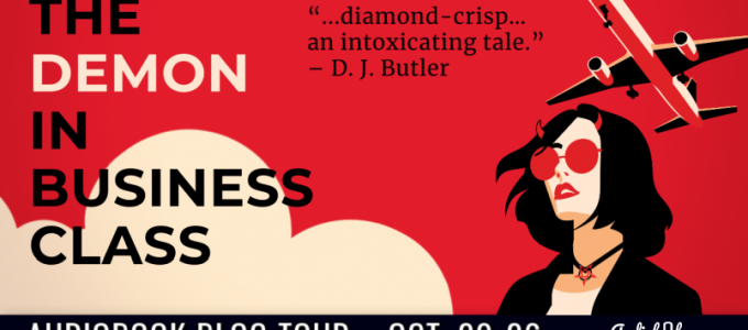 ⭐️ Audio Blog Tour: The Demon in Business Class by Anthony Dobranski