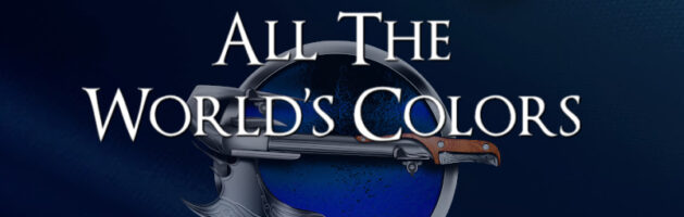 🎧  Audio Blog Tour: All the World's Colors by James W. George