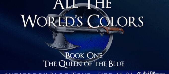 ⭐️  Audio Blog Tour: All the World's Colors by James W. George