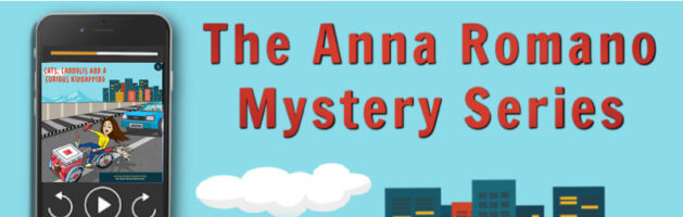 🎧  Audio Series Tour: The Anna Romano Mystery Series by Cheryl Denise Bannerman